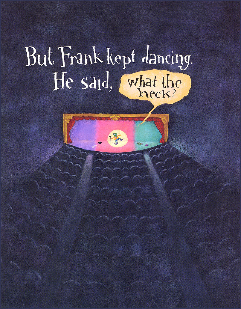 Kate Graves. Frank dancing