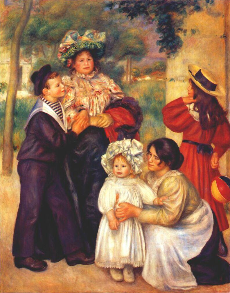 Pierre-Auguste Renoir. Portrait of the artist's family