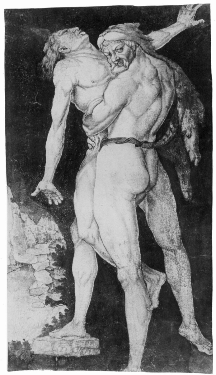 Ханс Бальдунг. Геракл – победитель Антея