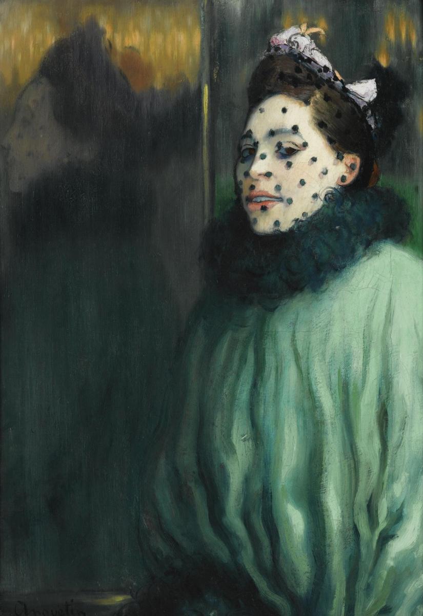 Луи Анкетен. Женщина под вуалью. 1891