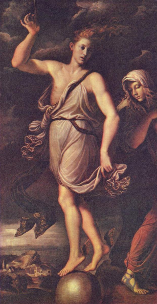 Girolamo da Carpi. Fortuna and Patience
