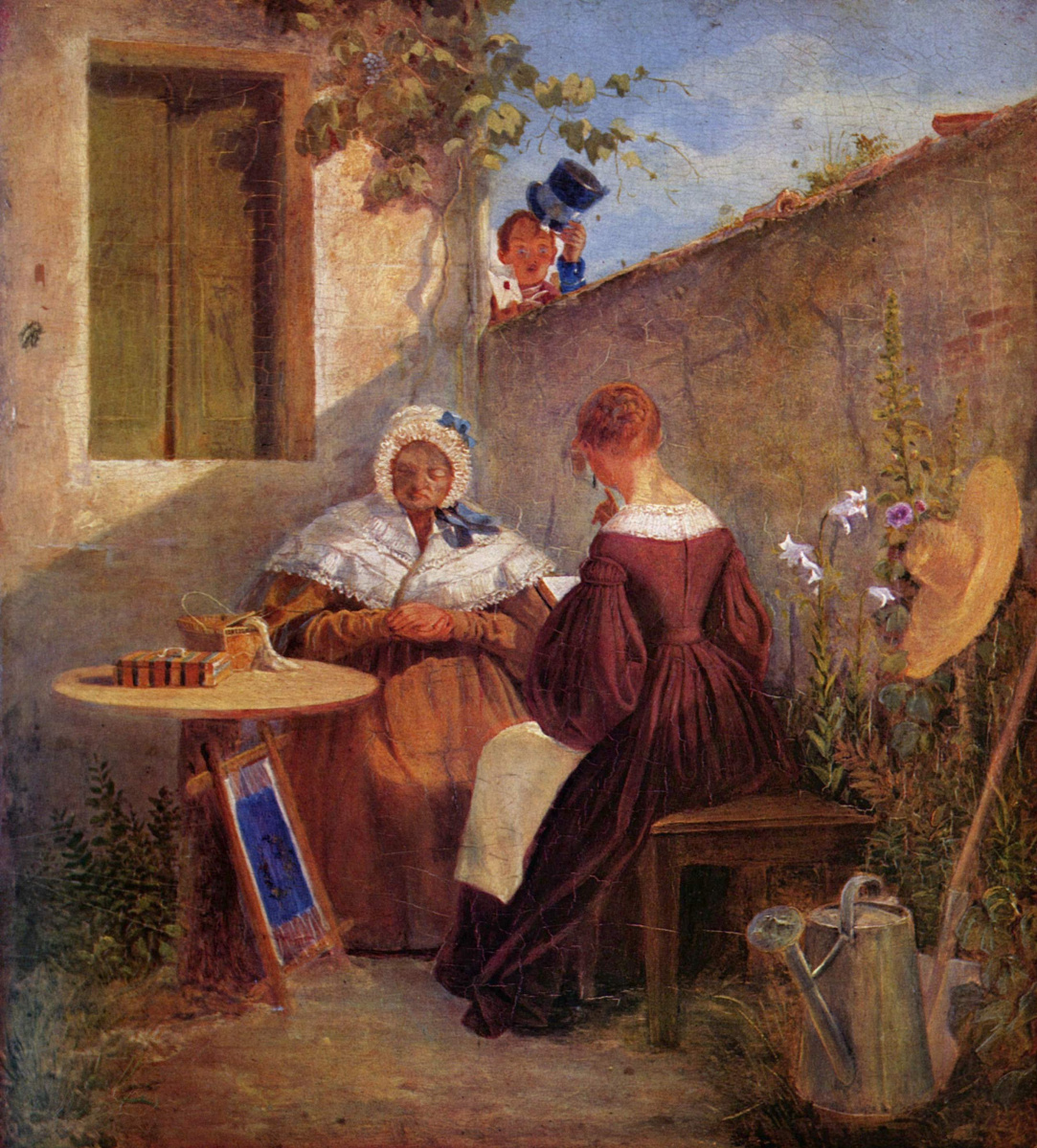 Are Still Carl Spitzweg. Love letter