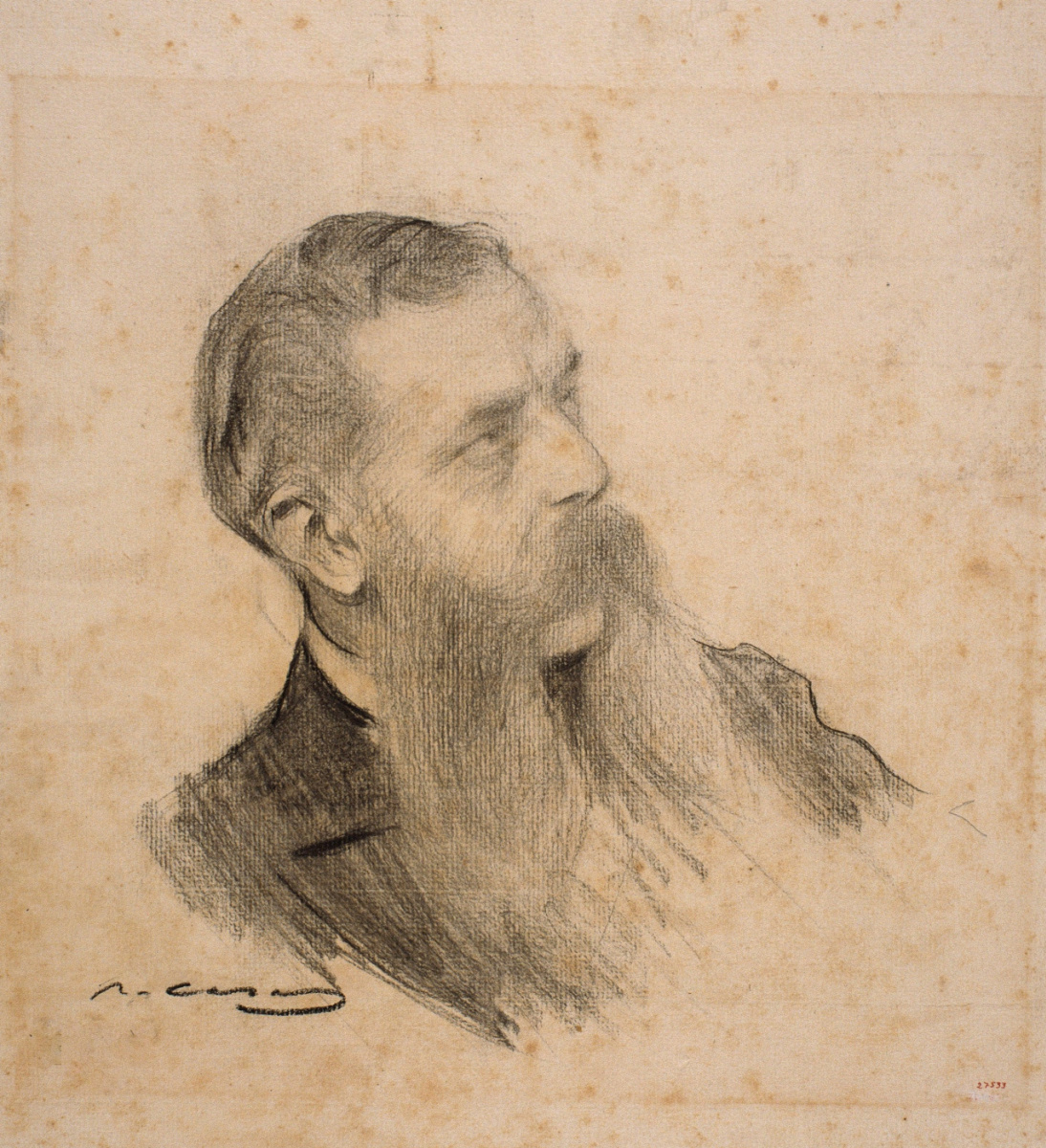 Рамон Касас Карбо. Портрет Гиллема де Боладереса