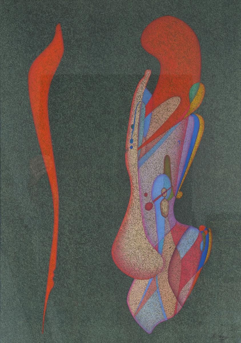 Михаил Шемякин. Бюст женщины. 1979