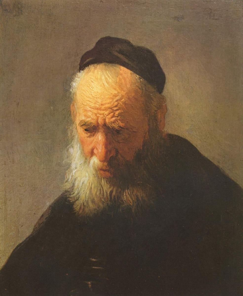 Рембрандт Ван Рейн. Портрет отца
