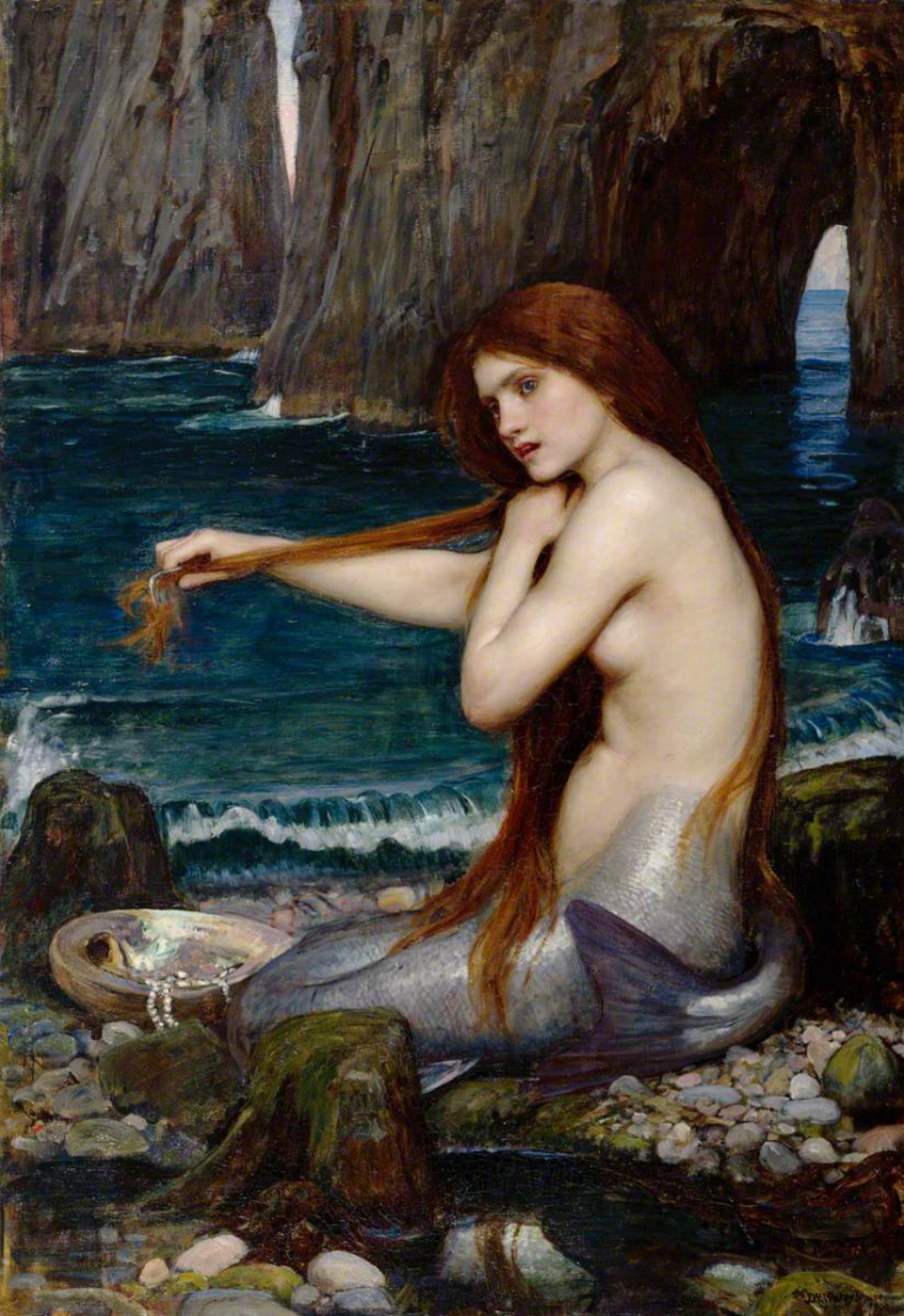 John William Waterhouse. Mermaid