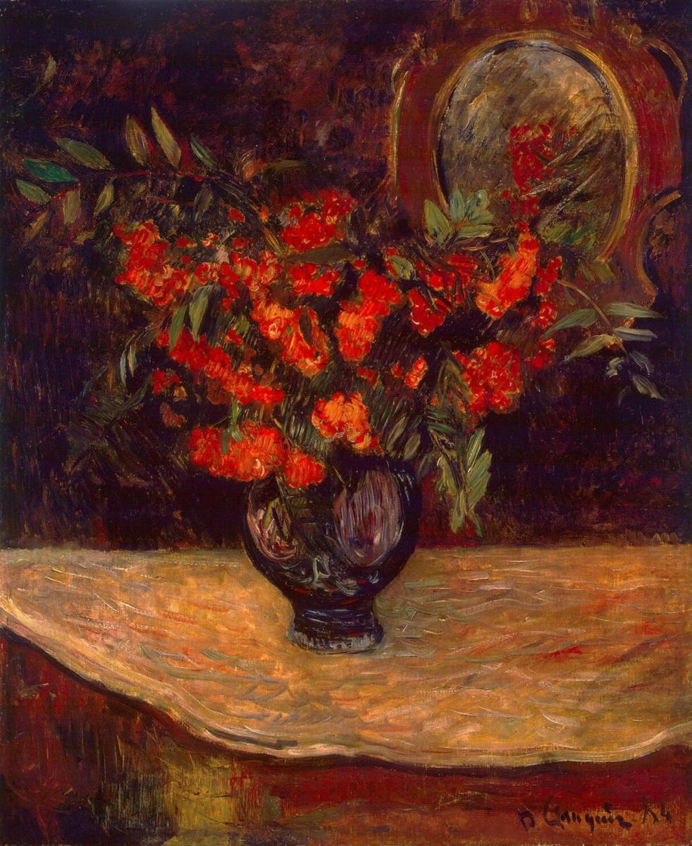Paul Gauguin. Bouquet