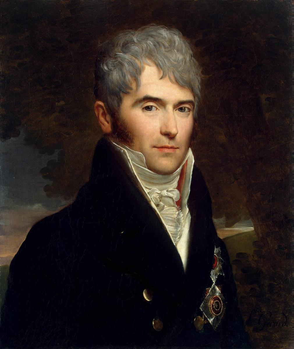 Франсуа Паскаль Симон Жерар. Портрет князя Кочубея