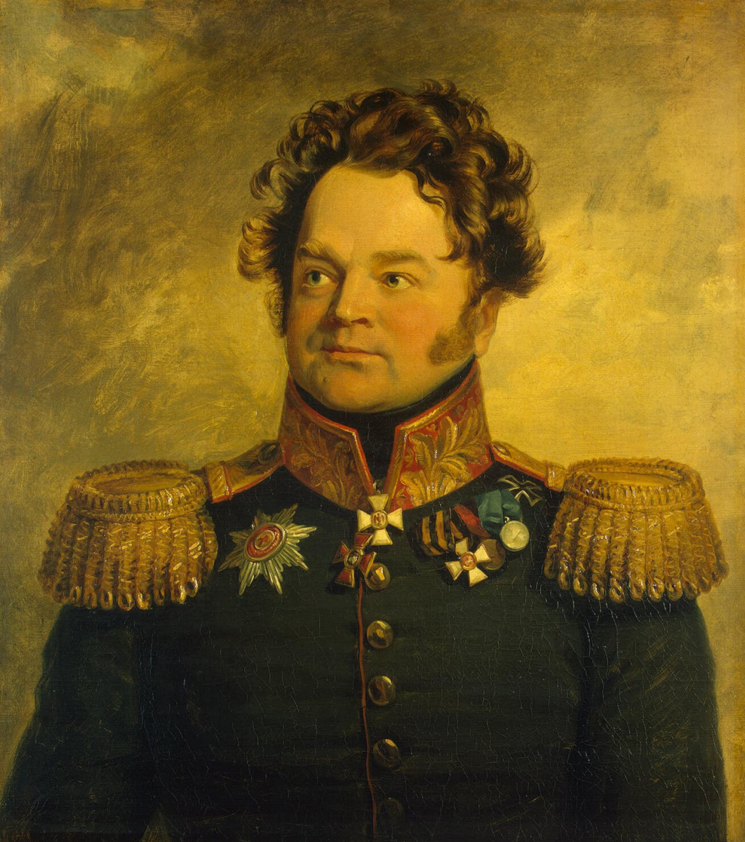 George Dow. Portrait Of Nikanor M. Svechin