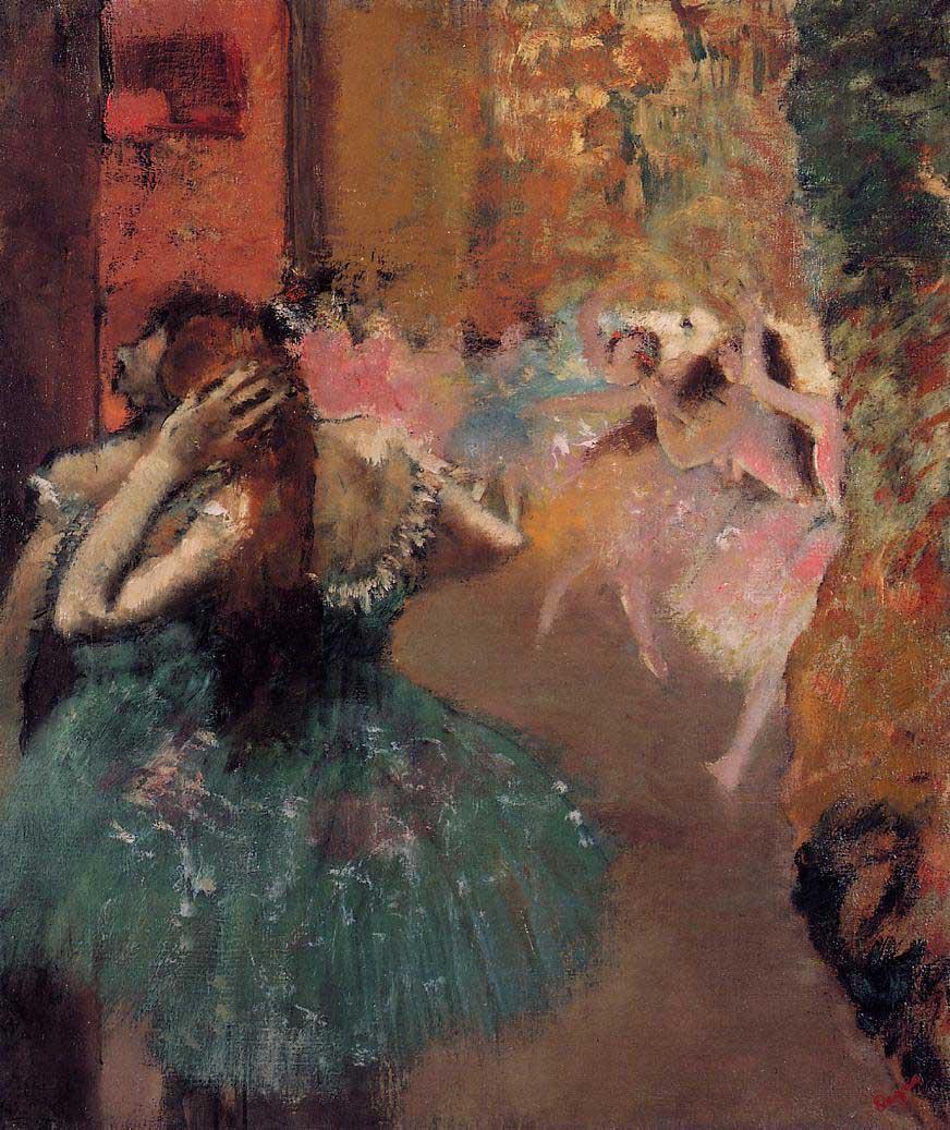 Эдгар Дега. Сцена балета