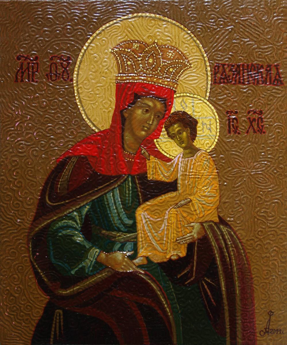 Алексей Петрович Акиндинов. Our Lady of Ryazan