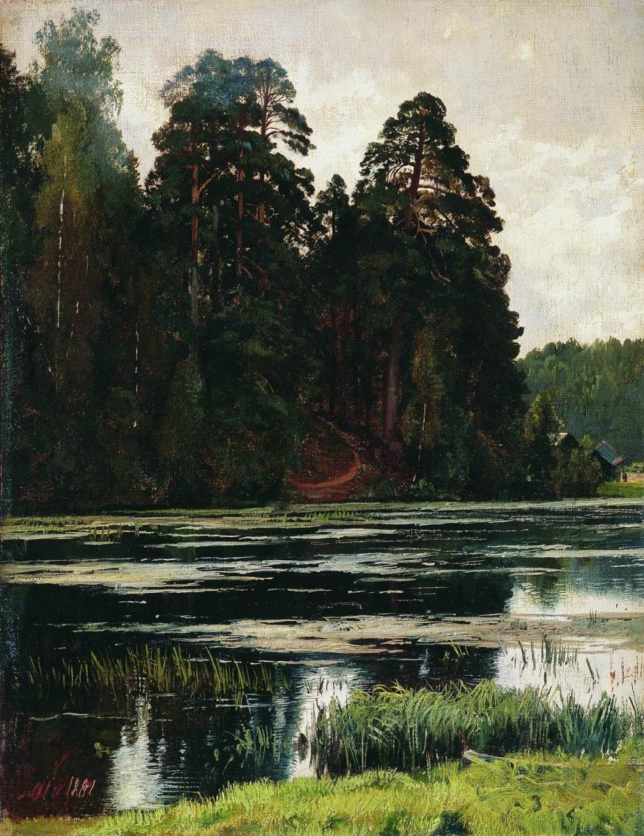 Иван Иванович Шишкин. Пруд