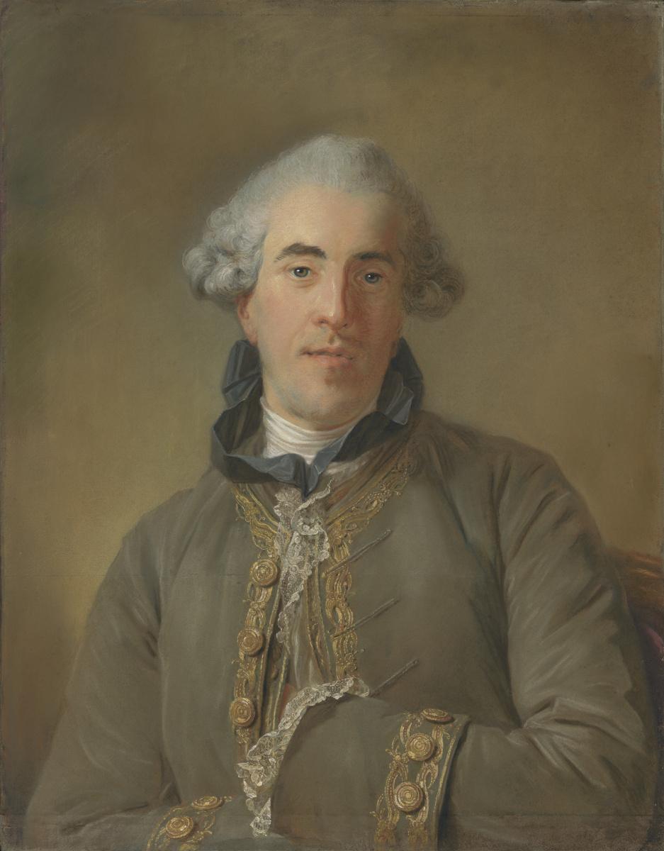 Жан-Батист Перронно. Портрет Теофиля ван Робэ