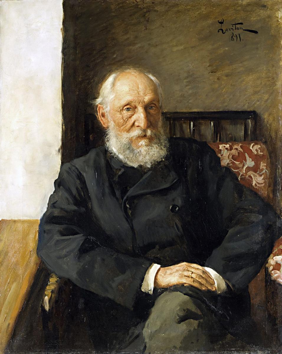 Isaac Levitan. Portrait Of N. P. Panafidina