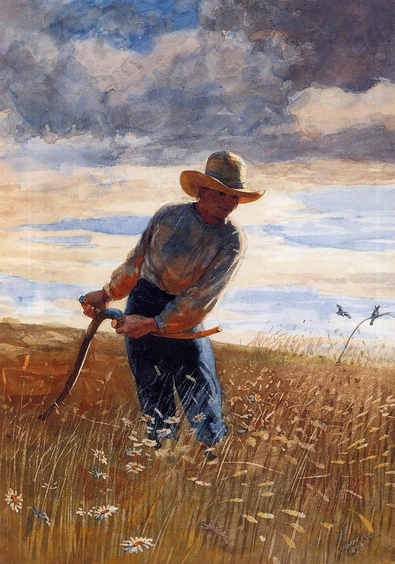 Winslow Homer. Reaper
