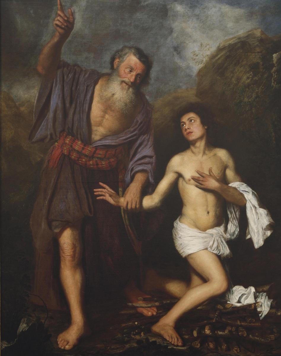 Ян Ливенс. Жертвоприношение Исаака