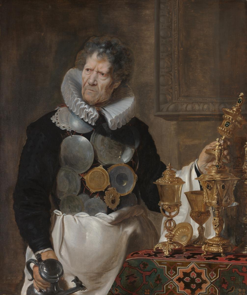 Cornelis de Vos. Portrait of Abraham Grapheus