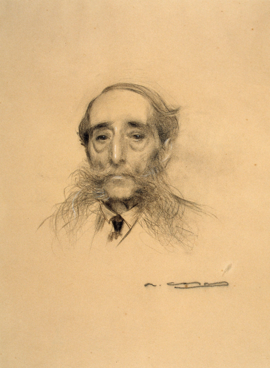 Рамон Касас Карбо. Портрет Маурици Виломара