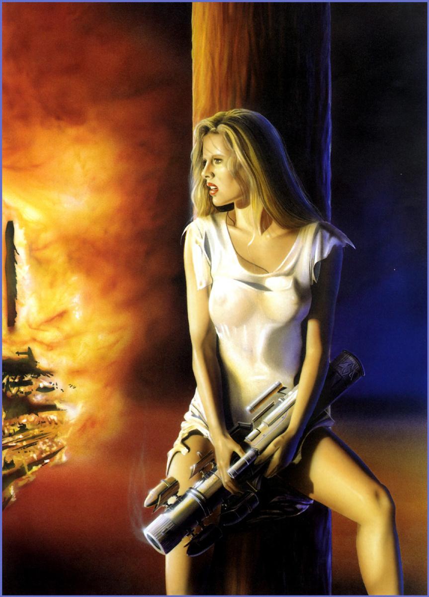 Лоренцо Сперлонга. Оружие в женских руках