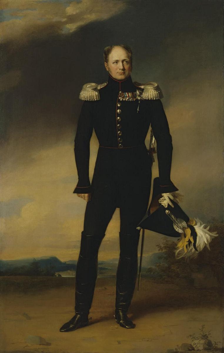 Джордж Доу. Портрет Александра I