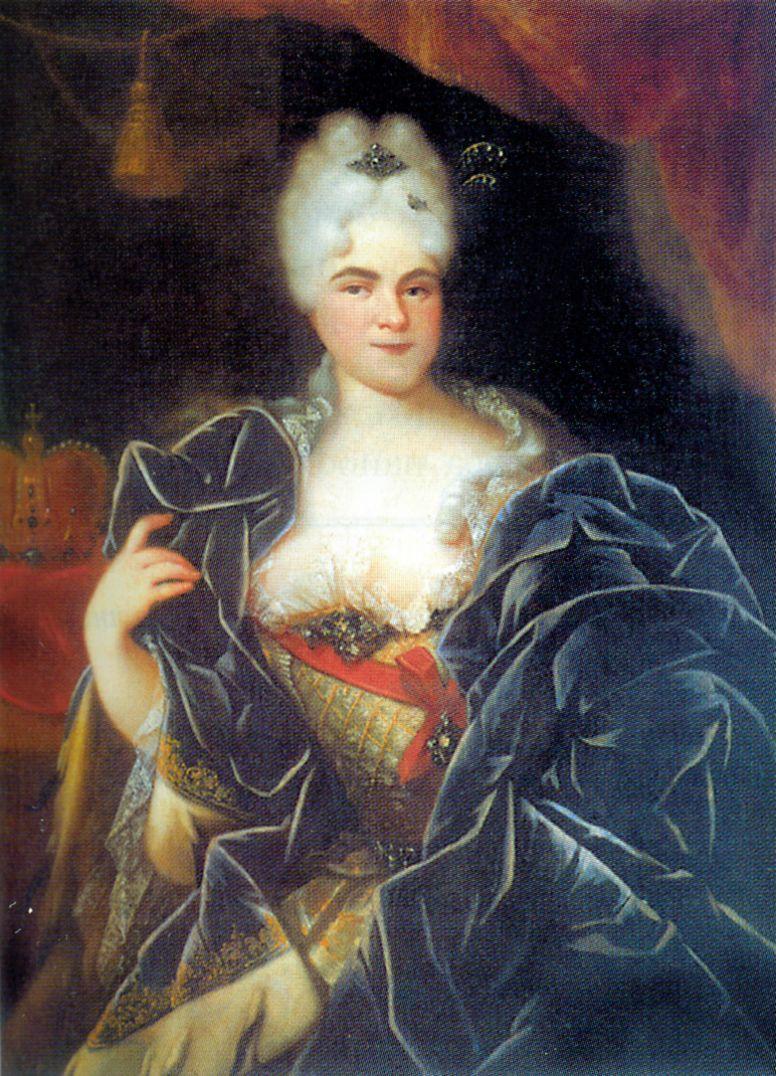 Ivan Nikitich Nikitin. Portrait Of Catherine I