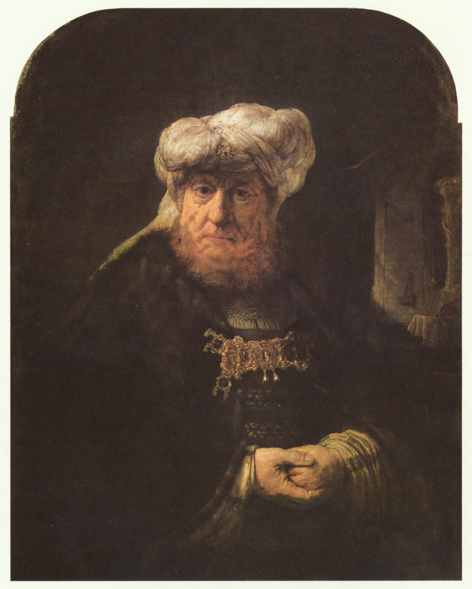 Рембрандт Харменс ван Рейн. Царь Озия