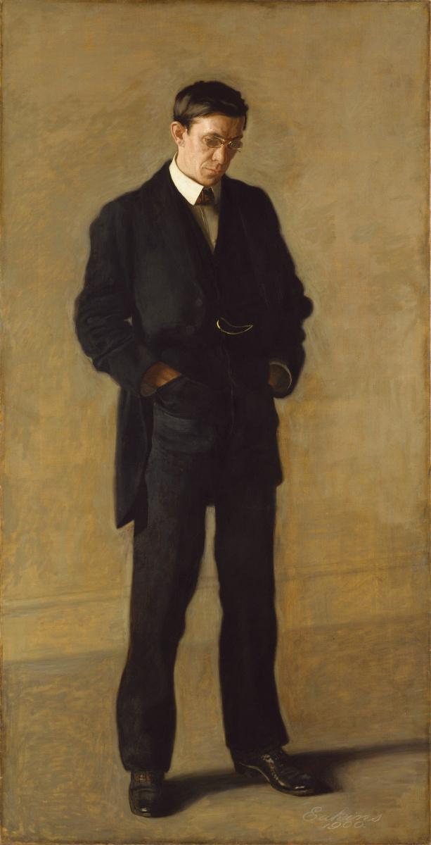 Томас Икинс. Мыслитель, портрет Луиса Н. Кентона