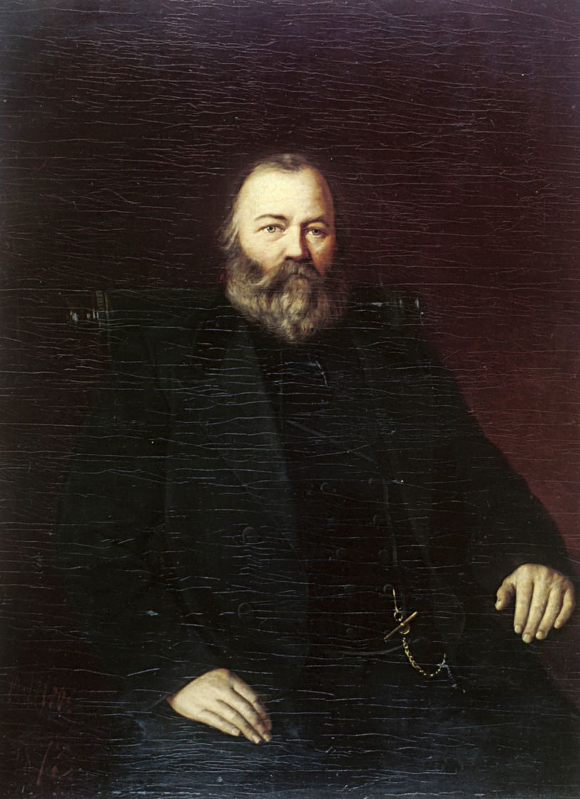 Василий Григорьевич Перов. Портрет купца С. Т. Кузнецова