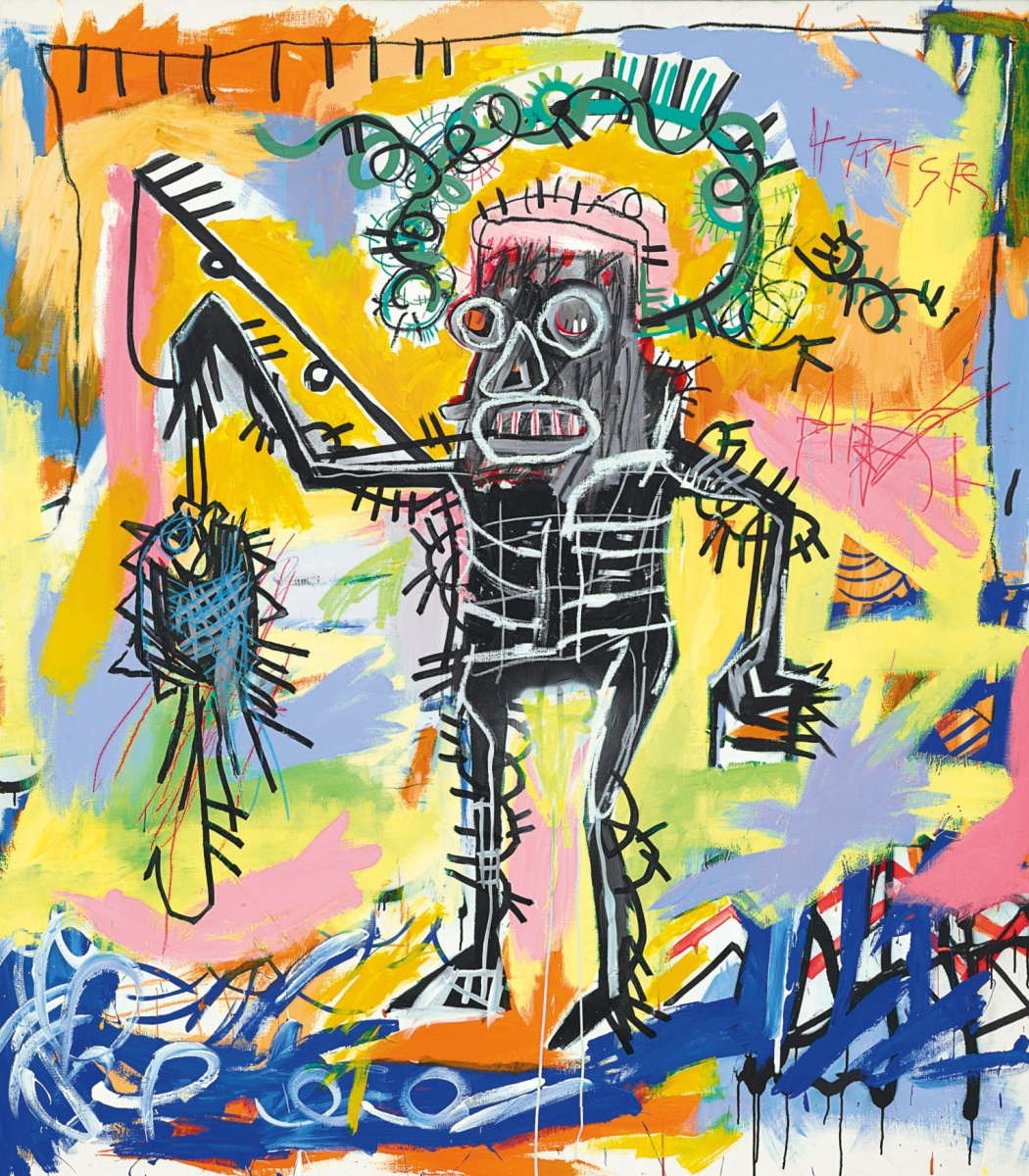 Jean-Michel Basquiat. Fishing