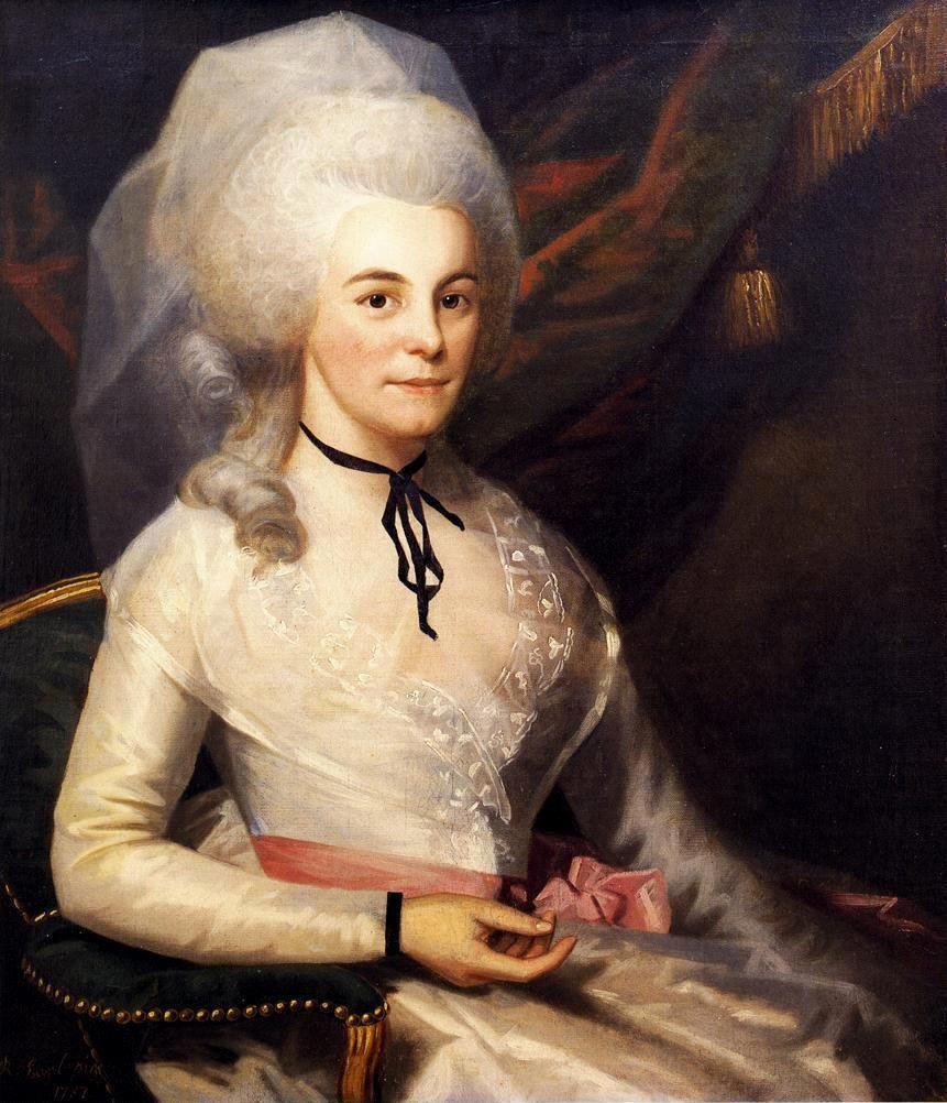 Ralph Earl. A Portrait Of Elizabeth Schuyler Hamilton