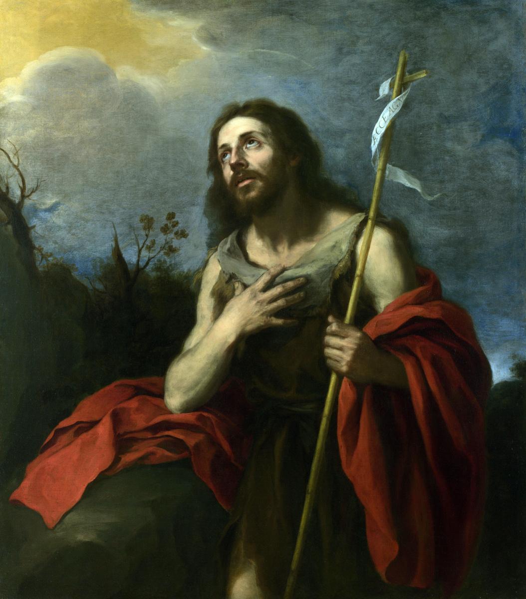 Бартоломе Эстебан Мурильо. Святой Иоанн предтеча в пустыне