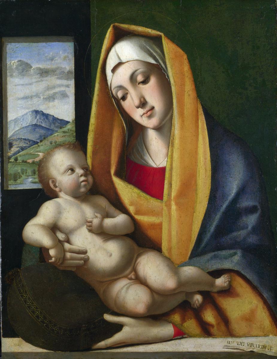 Алвис Виварини. Дева с младенцем