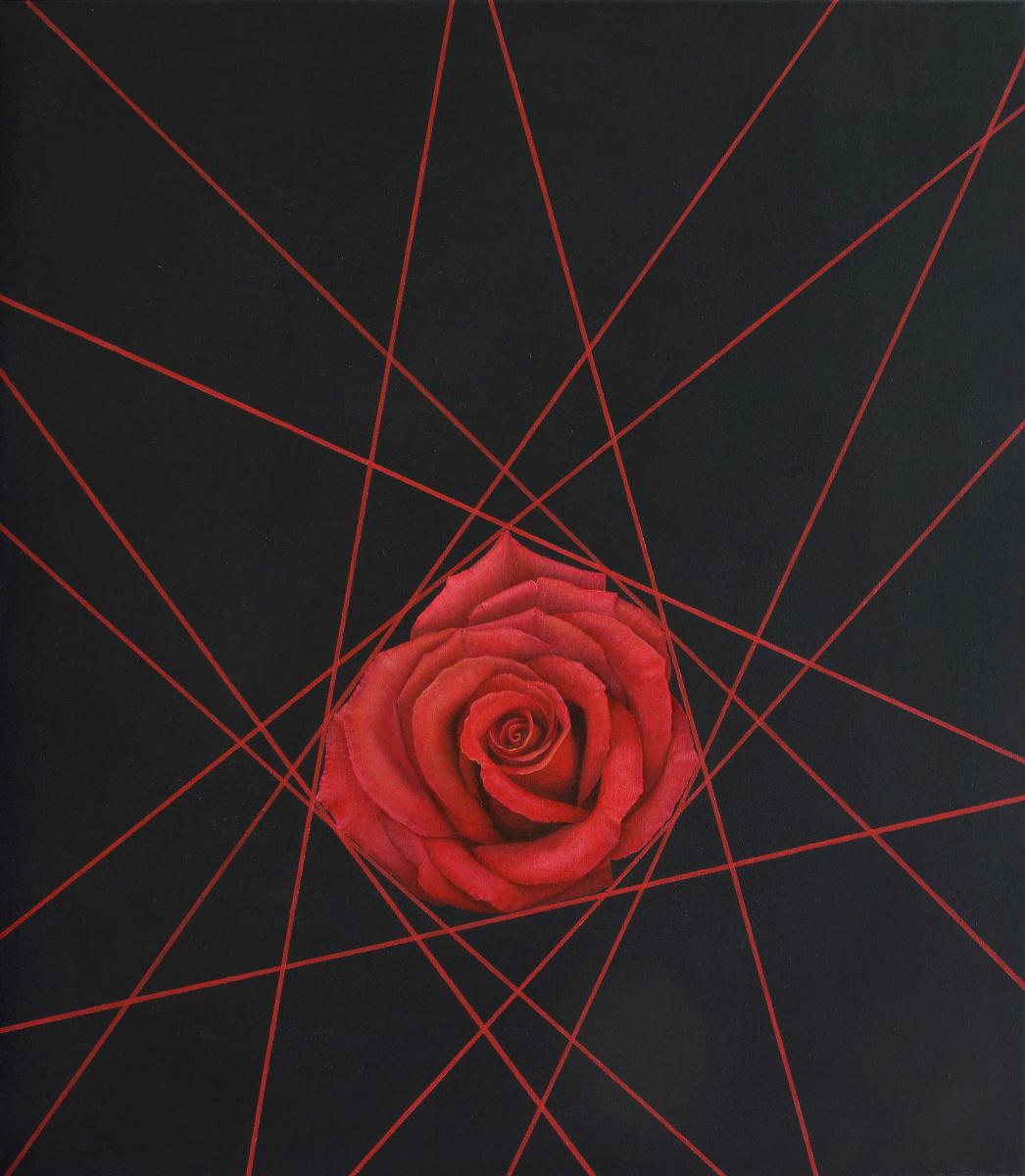 Natalia Bagatskaya. Lines and a Rose