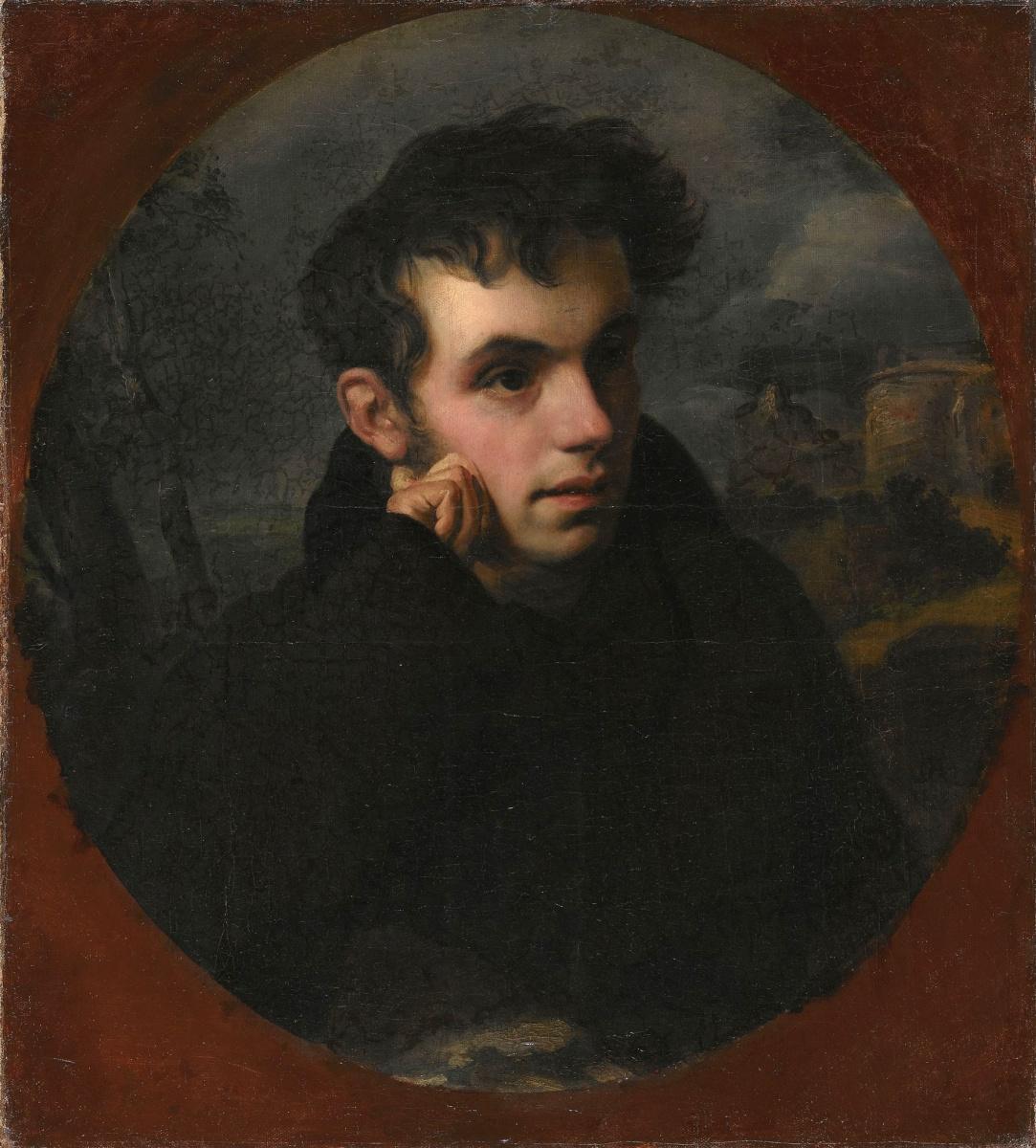 Orest Adamovich Kiprensky. Portrait of Vasily Andreyevich Zhukovsky