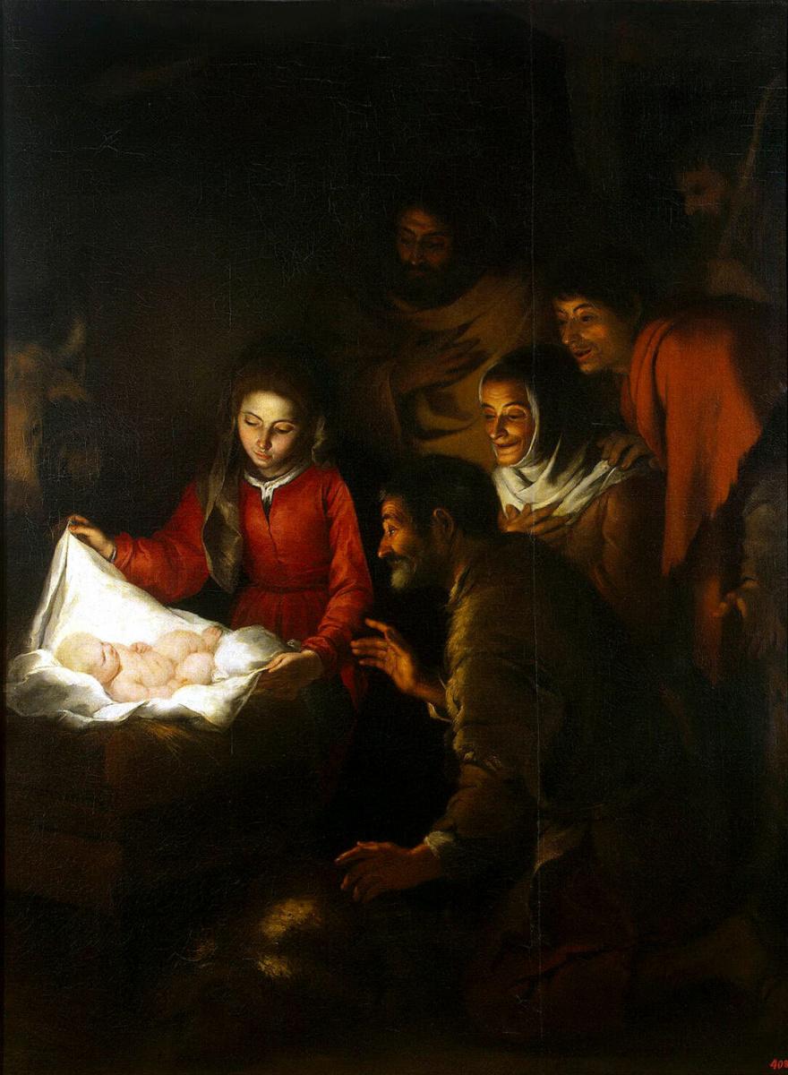 Бартоломе Эстебан Мурильо. Поклонение пастухов