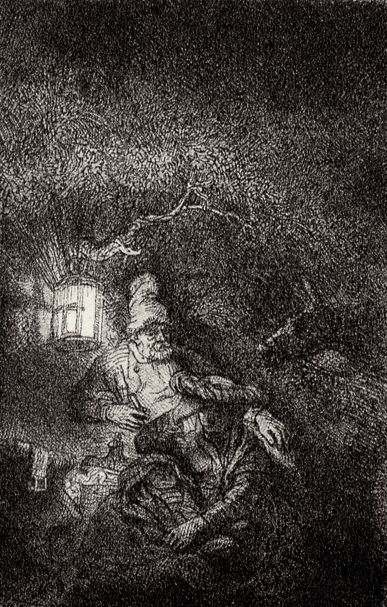 Рембрандт Харменс ван Рейн. Отдых на пути в Египет