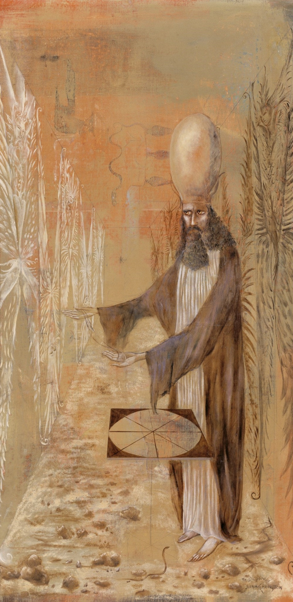 Leonora Carrington. The Hierophant for the Dauphin