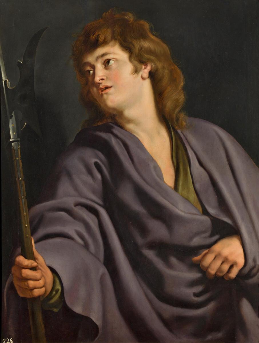 Peter Paul Rubens. Saint Matthew