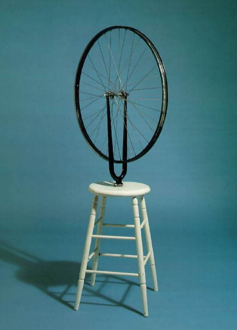 Marcel Duchamp. Bicycle wheel