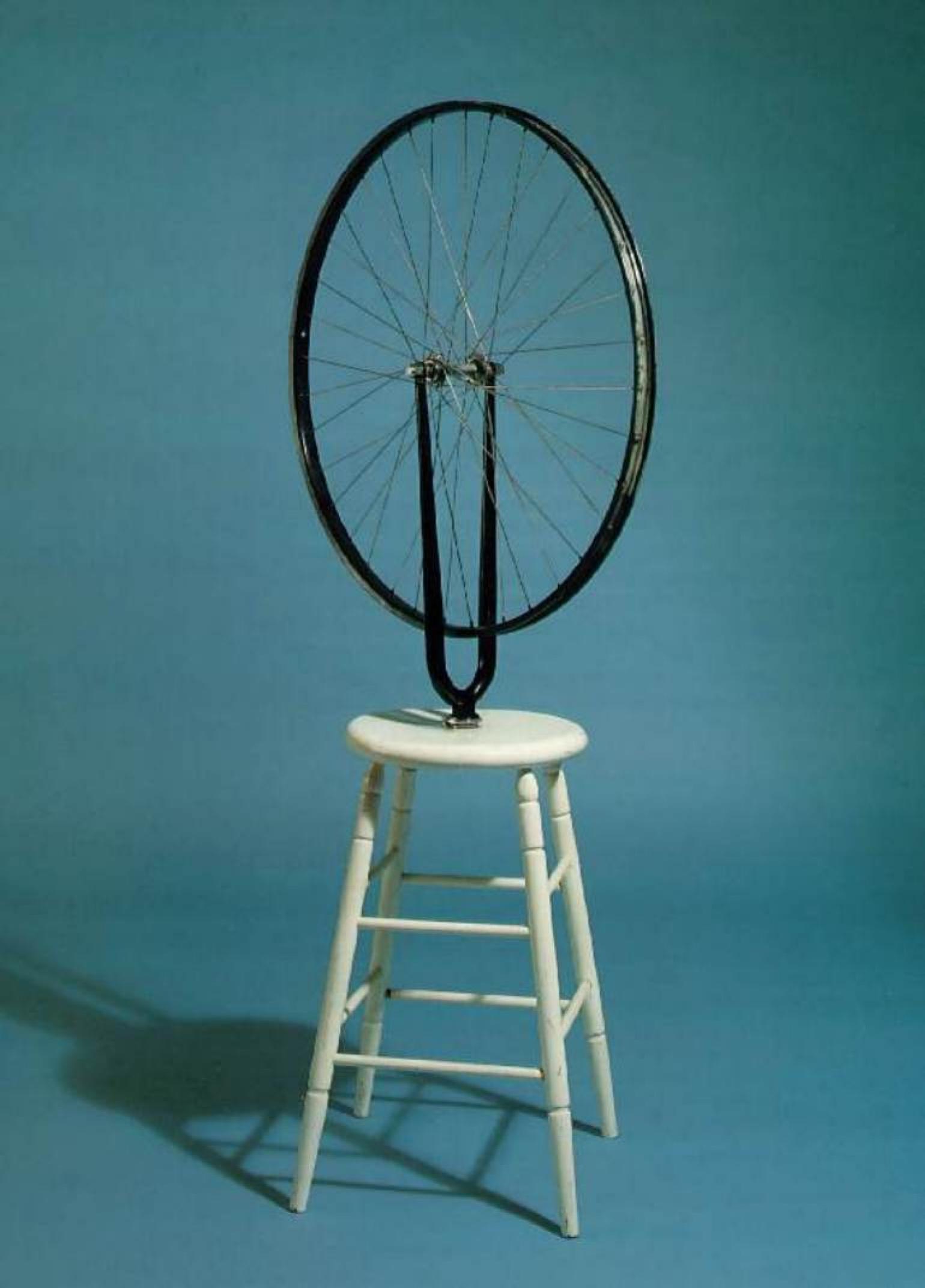 Марсель Дюшан. Колесо велосипеда