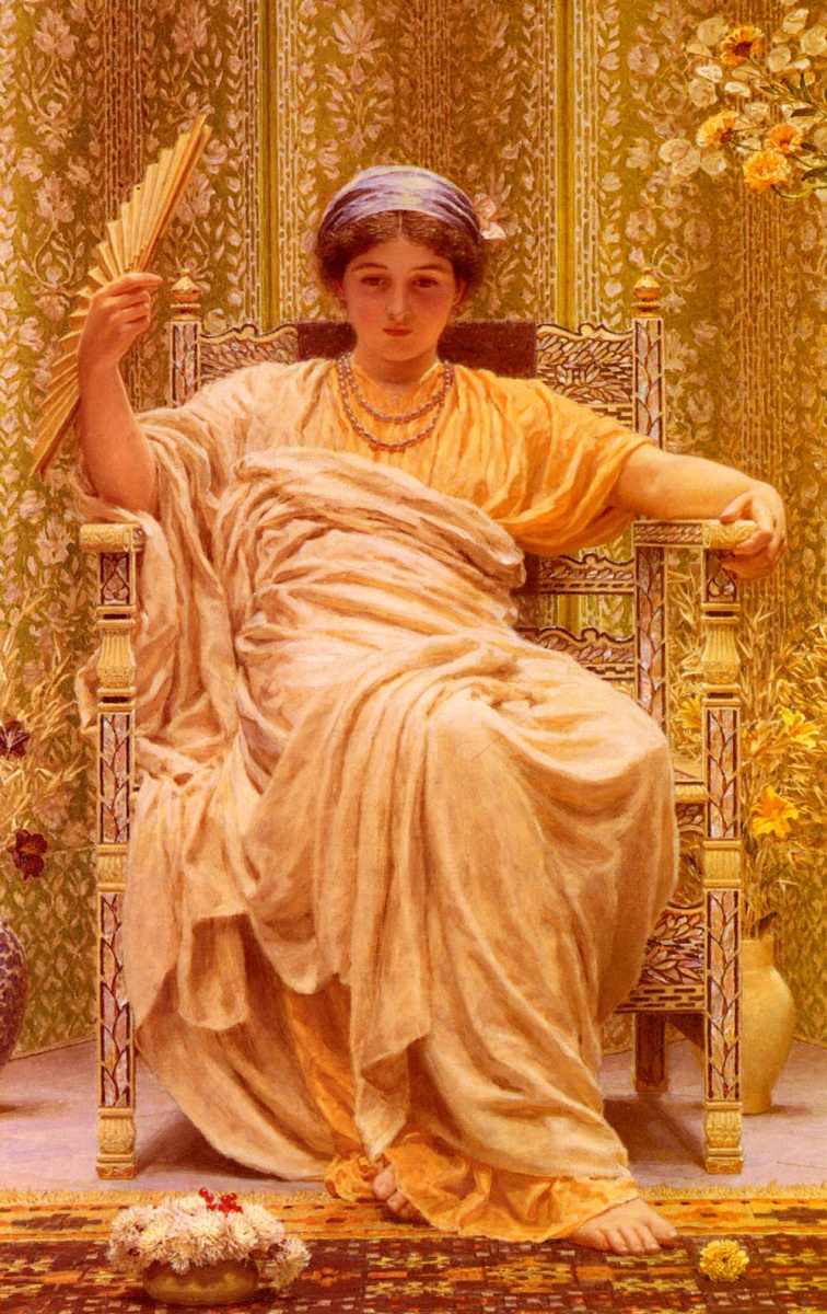 Albert Joseph Moore. Daydreaming