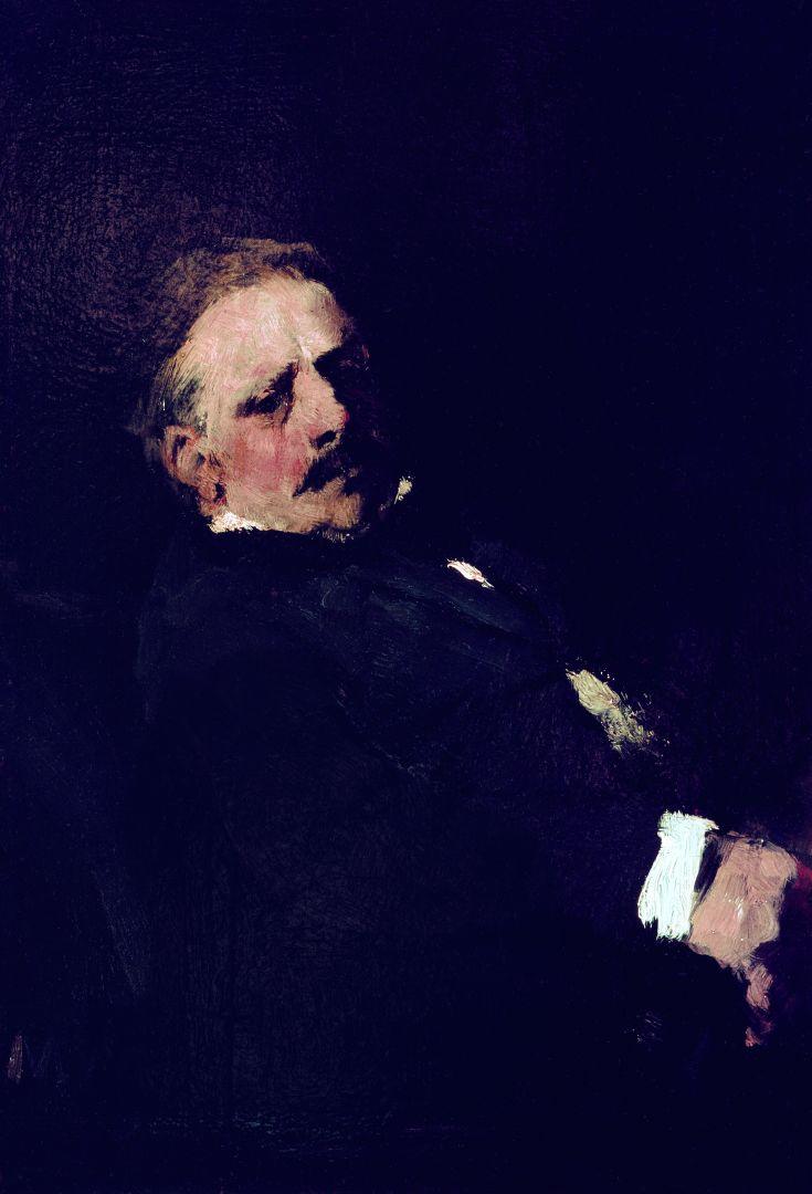Михай Либ Мункачи. Портрет барона де Марша