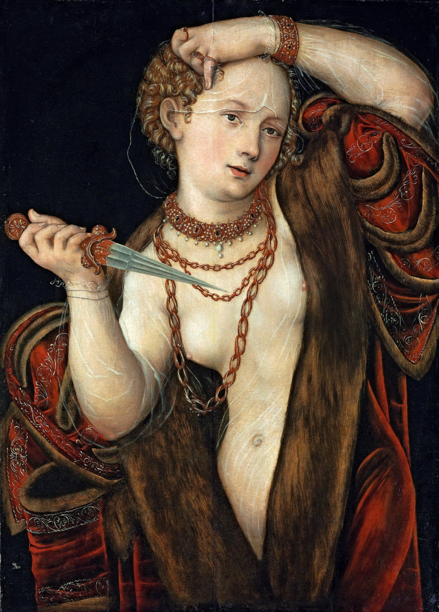 Lucas Cranach the Younger. Lucretius.