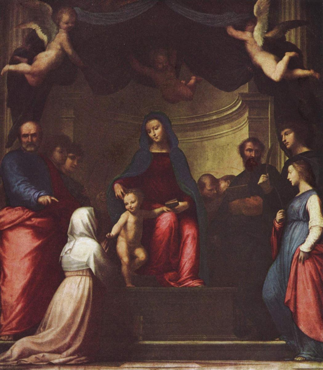 Фра Бартоломео. Обручение св. Екатерины