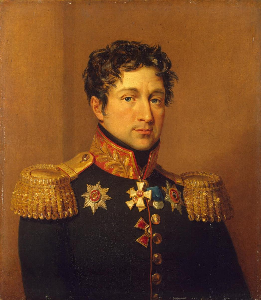 Джордж Доу. Портрет Захара Дмитриевича Олсуфьева