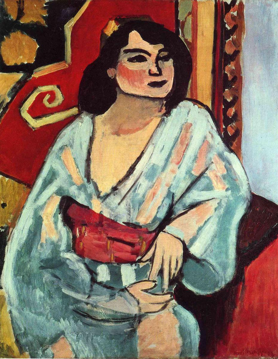 Анри Матисс. Алжирская женщина