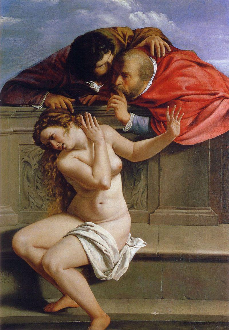Artemisia Gentileschi. Susanna and the Elders