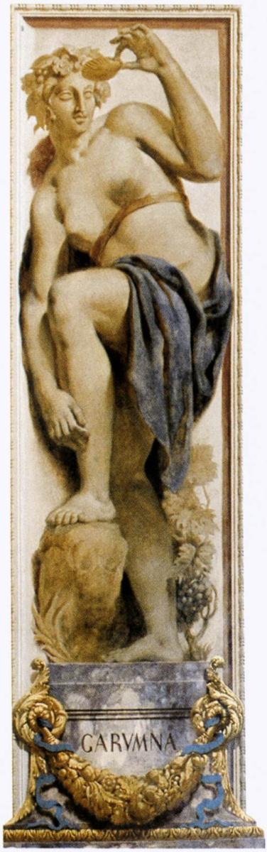 Эжен Делакруа. Гаронна (фрагмент росписи дворца Бурбонов в Париже)