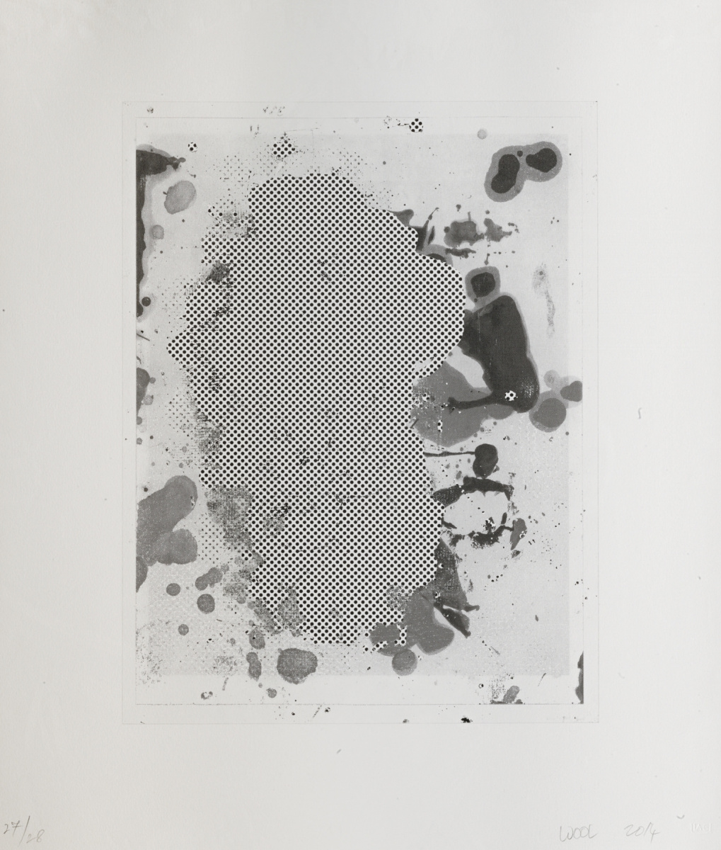 Christopher Wool. Portrait