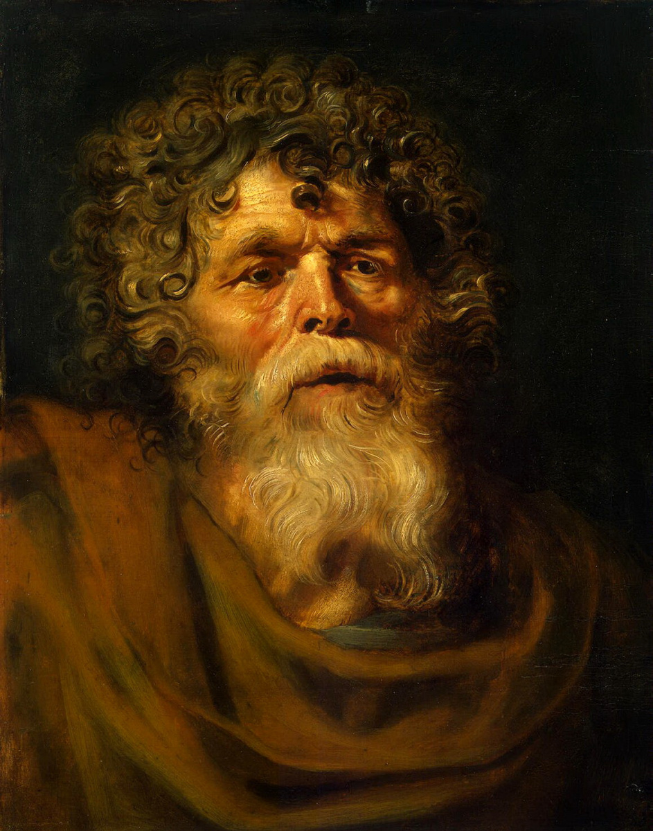 Питер Пауль Рубенс. Голова старика
